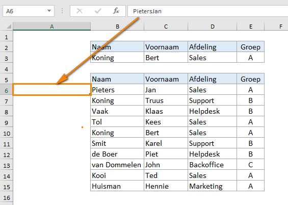 20 Excel tips die iedereen een Excel-expert kunnen maken tip 14