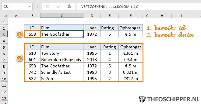 Excel verticaal zoeken tip 15